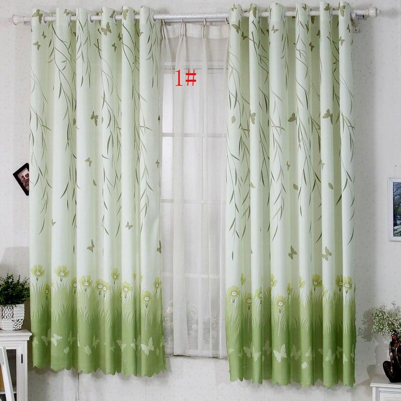 hot sale highquality semi shade curtain cloth short curtains window curtain for