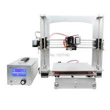 Aluminum I3 3D Printer Diy Kit FFF/FDM GT2560 Board LCD 2004 With 3-in-1 3D printer control box