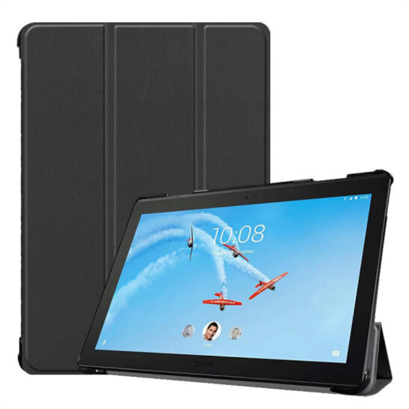 For <font><b>Lenovo</b></font> Tab P10 TB-<font><b>X705F</b></font> TB-X705N TB-X705 TB X705 10 inch Tablet Case Custer Fold Stand Bracket Leather Cover image
