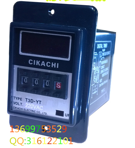 ФОТО T3D-YT CIKACHI time relay