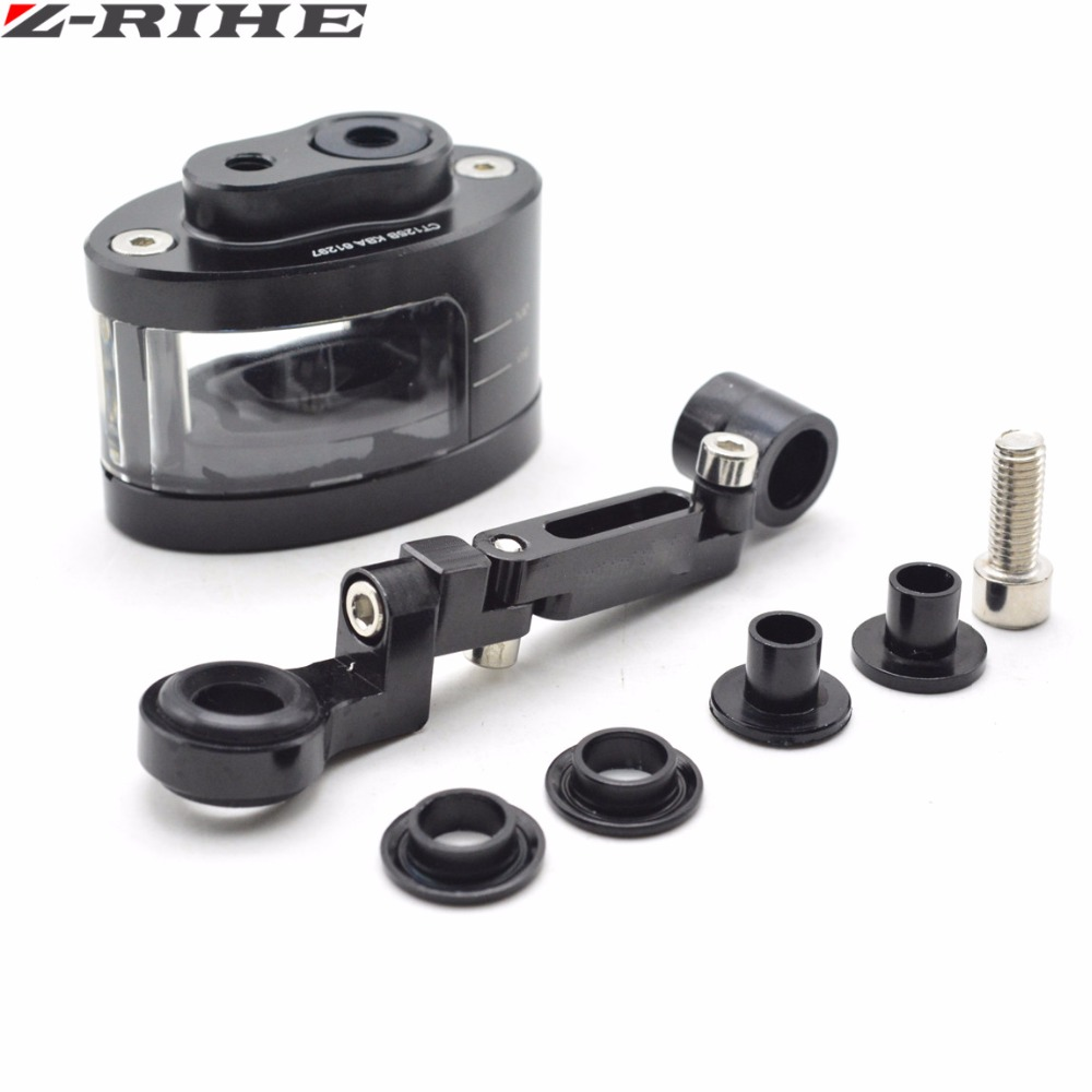 Universal Motorcycle Motorbike Brake Clutch Tank Cylinder Fluid Oil Reservoir Cup For Kawasaki Ninja 636 ZX-6R Z 750 800 1000 universal motorcycle brake fluid reservoir clutch tank oil fluid cup for kawasaki z1000 z800 z300 zzr1400 versys 650 er 4n er 6n