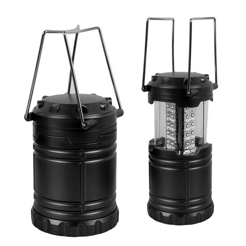 30 LED Mini Portable Folding LED Outdoor Camping Lantern Flashlights For Hiking Camping  ...