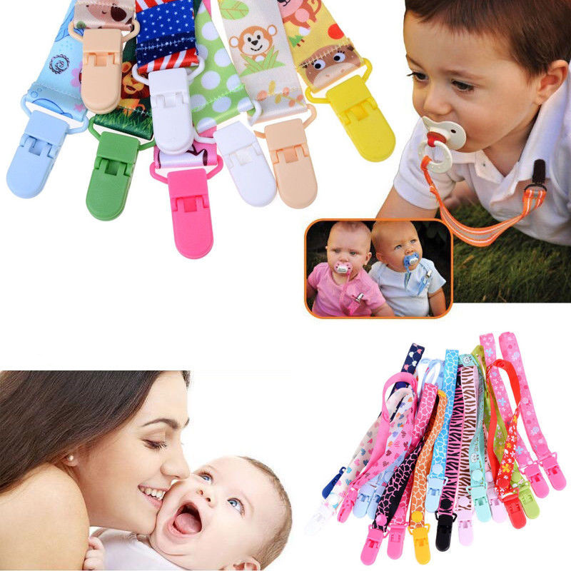 Baby Pacifier Clips Pacifier Chain Dummy Clip Nipple Holder For Nipples Children Pacifier Clip Soother Holder Attache Sucette