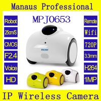 High Quality Smart WIFI IP Camera 720P 1MP Wireless Baby Monitor Touching Interaction Camera Two Way Audio Android/IOS J653 QN02