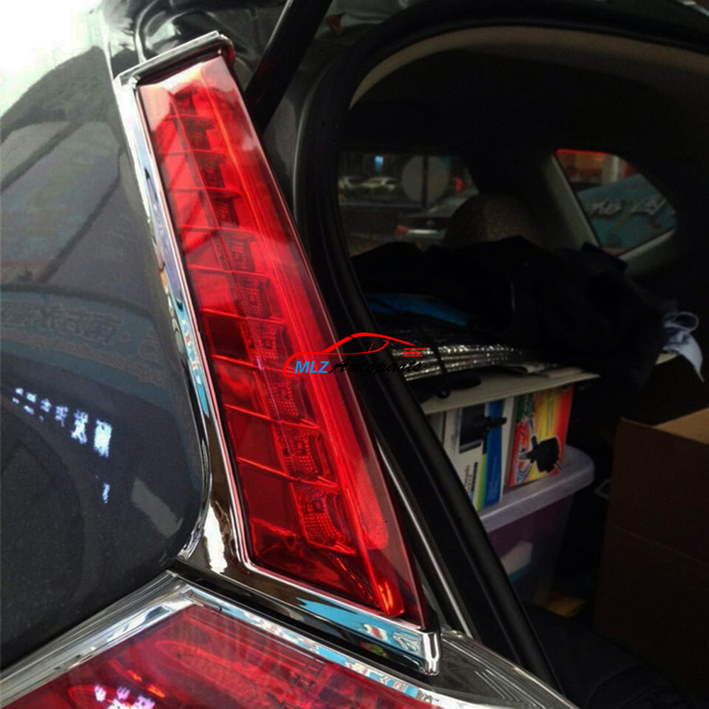 Car Rear Window Side LED High Brake Light Revising Lamp Anti Chasing Taillights For Nissan X-Trail Rogue T32 2014 2015 2016