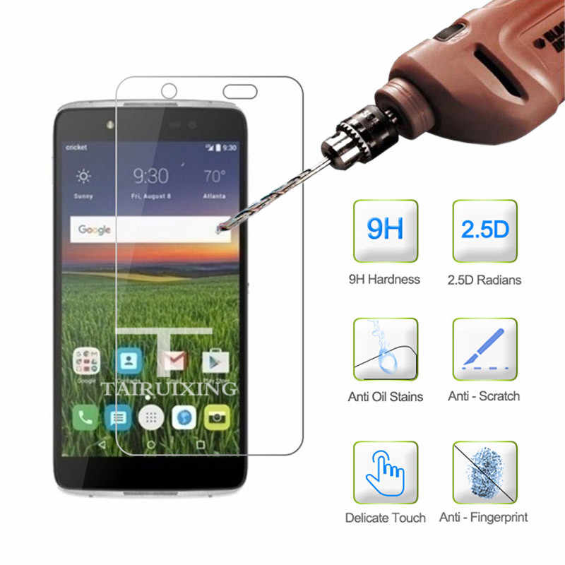 "9H Tempered Glass For Alcatel One Touch Idol 4 6055K 6055P 6055B 5.2"" Screen Protector Protective Film Guard For Alcatel Idol 4"