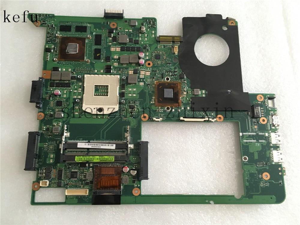 For ASUS N76V N76VM N76VJ N76VZ Laptop motherboard REV.2.2 PGA989 With graphic full test for asus g74sx laptop motherboard with 2d connector 4 ram slot gtx560m pga989 rev 2 0 full test