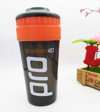 Agitador Pro 40 Proteína de Suero de leche nutrición Deportiva licuadora mezclador de agua botella de fitness gimnasio De Proteína En Polvo mi botella de agua 700 ml