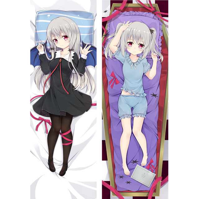 ms vampire who lives in my neighborhood anime body pillow case mai