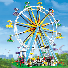 Ferris Wheel Compatible Legoing Children Assembled Educational Model Kit Diy Building Blocks Brick Toys Kids Birthday Gifts I32