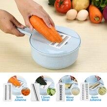 Мандолина слайсер ручная овощерезка инструмент для чистки картофеля, моркови терка для сыра с ситечко Овощной слайсер кухонные аксессуары