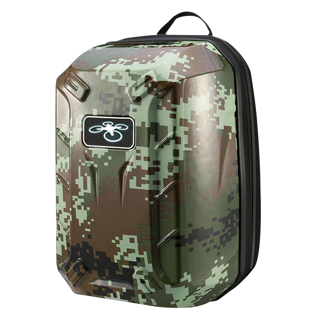 5x  ing Waterproof Backpack Shoulder Bag Hard Shell Case For DJI Phantom 3Color:Army green
