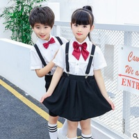Boys and Girls School Uniforms Clothing Set 2019 Spring Children 's Class Uniforms Primary and Secondary School Students ly248