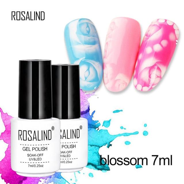 2018 7m ROSALIND thermal zoom series nail art halo nail glue DIY ...