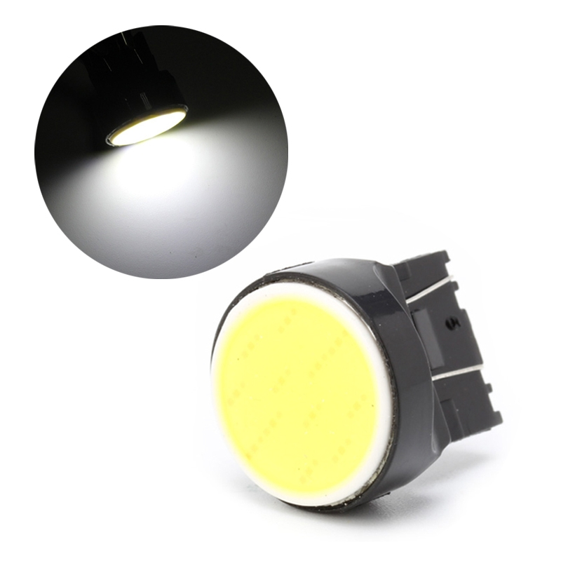 1Pcs T20 7443 7440 COB 12SMD Car LED Reversing Light Turning Signal Lamp Bulb