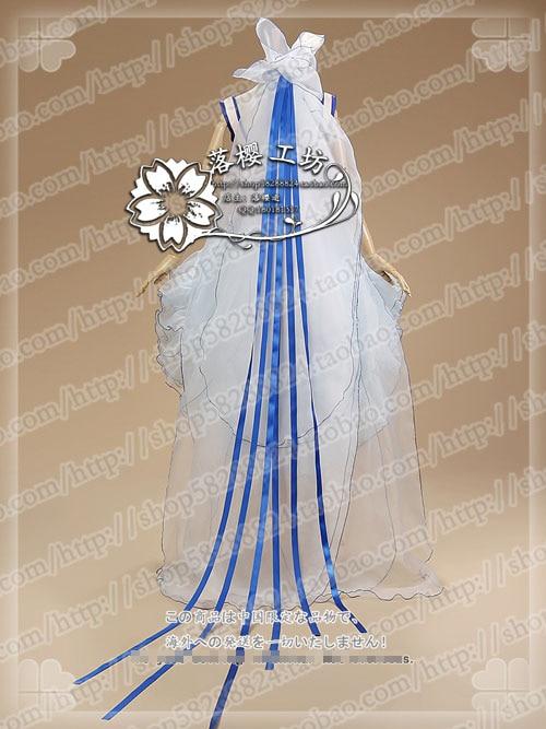 Livraison Gratuite Costume Uniformes Chobits Et Bleu Clamp Illusrtuction Blanc Cosplay Lolita xgqz47w