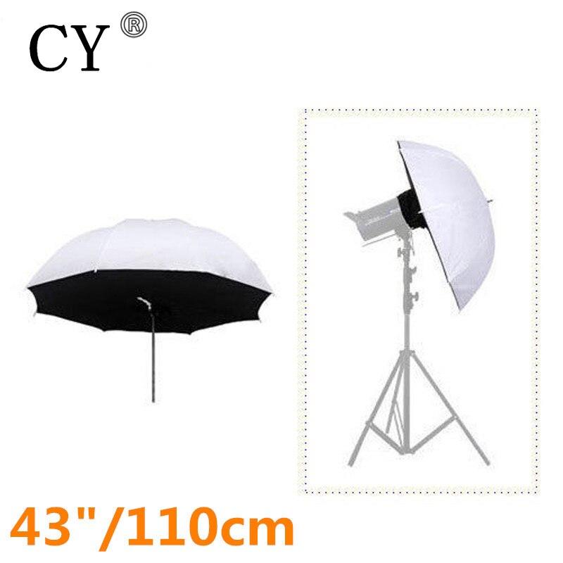 Lightupfoto Photo Studio Vedio Accessories 42/110cm Studio Umbrella Softbox Soft Brolly Box Reflector PSCS4B