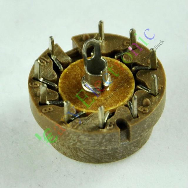 Оптом и в розницу 60 шт. 10pin Бакелит ламповые для D9J2 радио усилители DIY частей guitr hifi бесплатная доставка