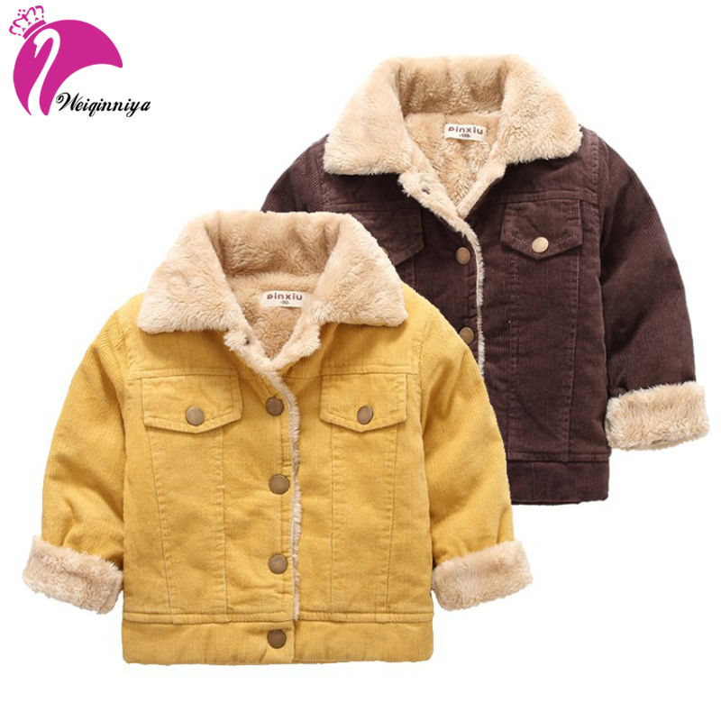 weiqinniya Boys Jackets Winter Down Coat For Boy Fashion Children Down Thick Jacket For Boy 2018 Kids Jackets Plus Velvet Winter turn down fur collar winter coat middle aged men thick velvet men s leather jacket down coat winter jackets for men down jacket