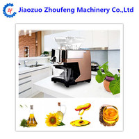 Mini household screw oil press seed oil extraction machine coconut oil machine