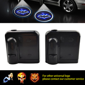 1pcs Wireless Led Car Door Welcome Laser Projector Logo Ghost Shadow Light for Toyota Fiat Lada Skoda Chevrolet Citroen Renault