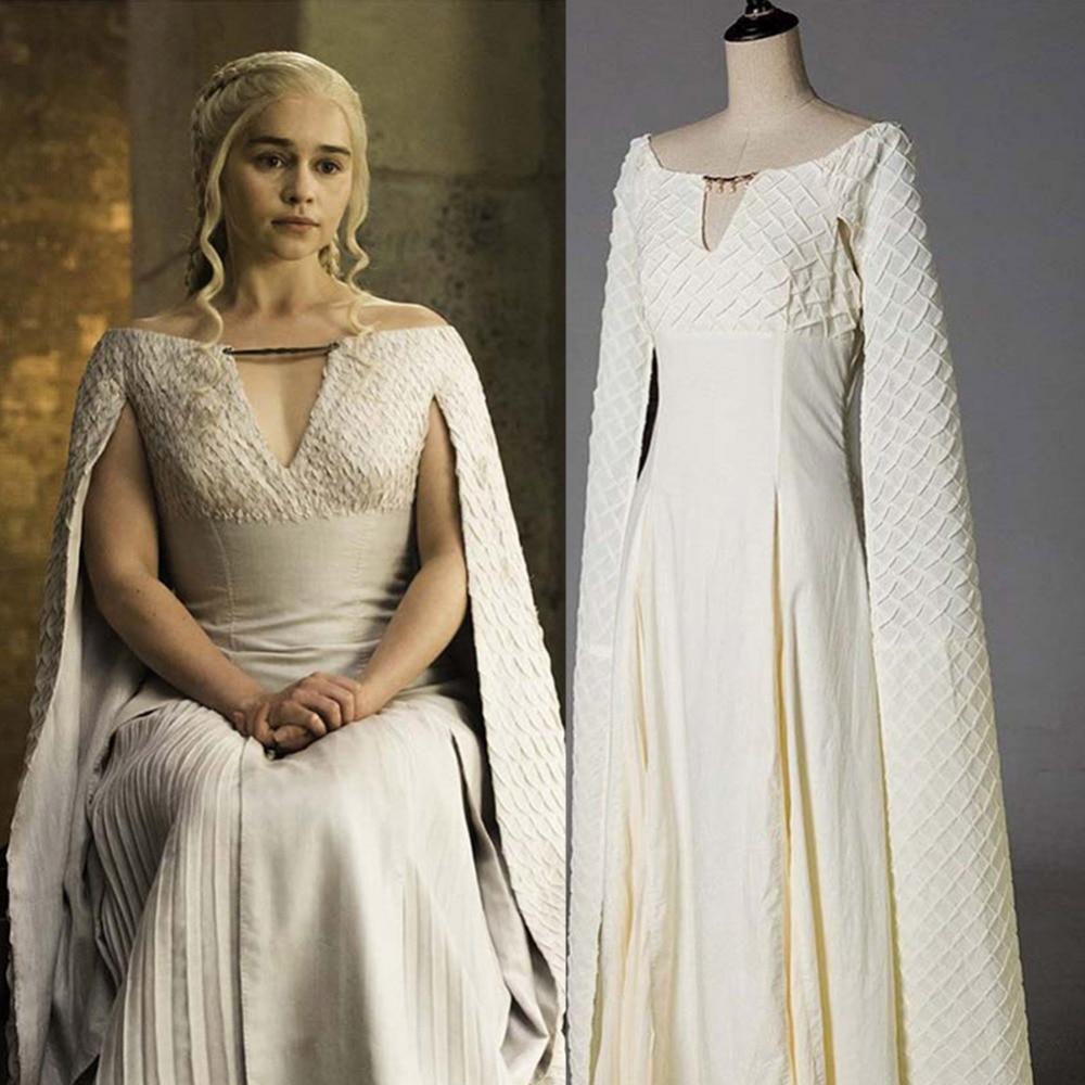 Game Of Thrones Cosplay Daenerys Targaryen Cosplay Costume