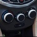 3 unids/set Car-styling AC Perilla de Aire Acondicionado Interruptor de Control de Calor 3 unids/set Accesorios Del Coche para Hyundai Verna