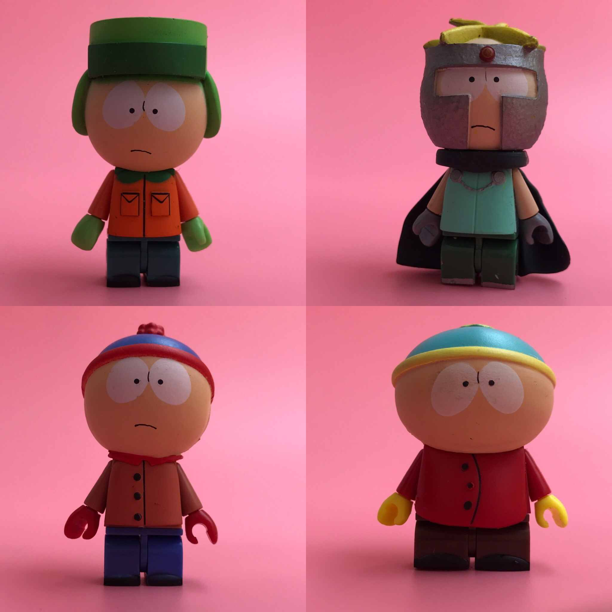 fc1d40a86d ... Hot Toy Garage Kit Figurine TV: South Park - Eric, Stan, Kenny Rick ...
