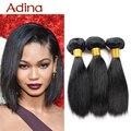 Короткий Прямой Прическа Новая Мода 2016 Перуанский Богородицы Правам Расширение Уток Прямо Необработанные 3 Пучки Сделка Короткие Волосы