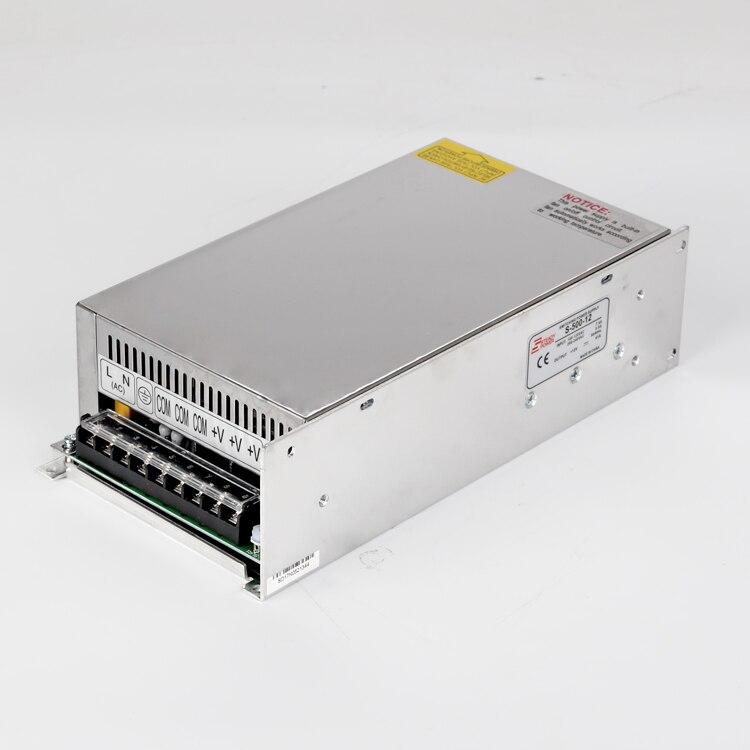 S-500w 12 v 40 ampères alimentation unique sortie 5 v 12 v 15 v 24 v 36 v 48 v 500 w 40a dc smps commutateur de courant LED - 4