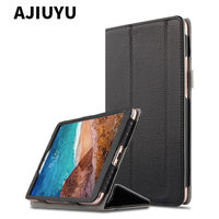 Case Cowhide For Xiaomi MiPad 4 Mi Pad 4 8inch Protective cover Genuine leather Mi Pad4 mipad4 8.0 Tablet Protector case cover