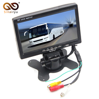 Sinairyu Wholesale 10pcs HD Digital Screen 800 480 7 Inch TFT Car Parking Monitor With 2