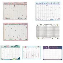 Calendars Efforts Planner Book 365 Day Annual schedule Agenda Journal Diary Paper Plan Book Desk Student Office Supplies