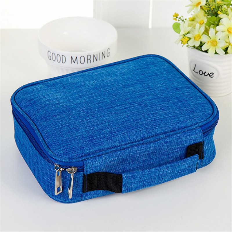 цены Mini Canvas School Pencil Cases Large Capacity 72 Holes Pen Box Zipper Penalty Multifunction Storage Bag Case Pouch Supplies