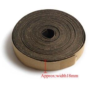Image 2 - 5 metr 18*3 MM/10*1 MM/18*1 MM głośnik EVA naprawa taśma uszczelniająca głośnik czarny jednostronny odporny na wstrząsy uszczelka absorbera