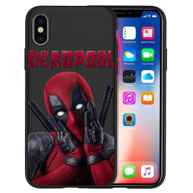 Deadpool Printed Phone Cases For Apple Iphone (6 Styles) 3