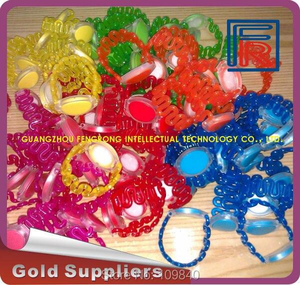 Free shipping Hotel 13.56MHz ABS wristband Suana RFID Waterproof Bracelet rewritable 100pcs/lot