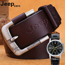 New Give The Watch Men Belt Genuine Leather Needle Buckle Belt For Young And Middle-aged Cowhide Belt