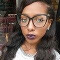 Nueva Tendencia de La Moda Del Ojo de Gato Mujeres Gafas Ópticas Gafas de Equipo Marco Eyewear Alta Calidad Montura de gafas _ SH412