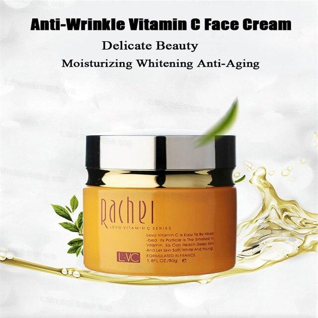 Anti-Wrinkle Vitamin C Face Cream Anti-Aging Whitening Moisturizing Beauty Skin Care Facial Cream Night Creams Instantly S183H