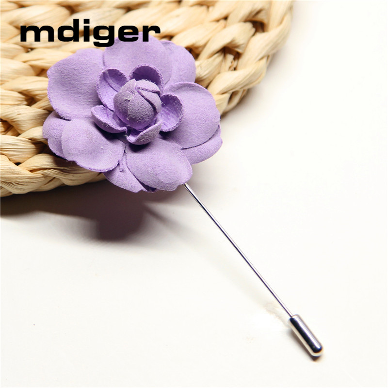 Brand Mens Lapel Pin Flower Wedding Brooch Bouquet for Men Handmade Brooches Christmas Gift