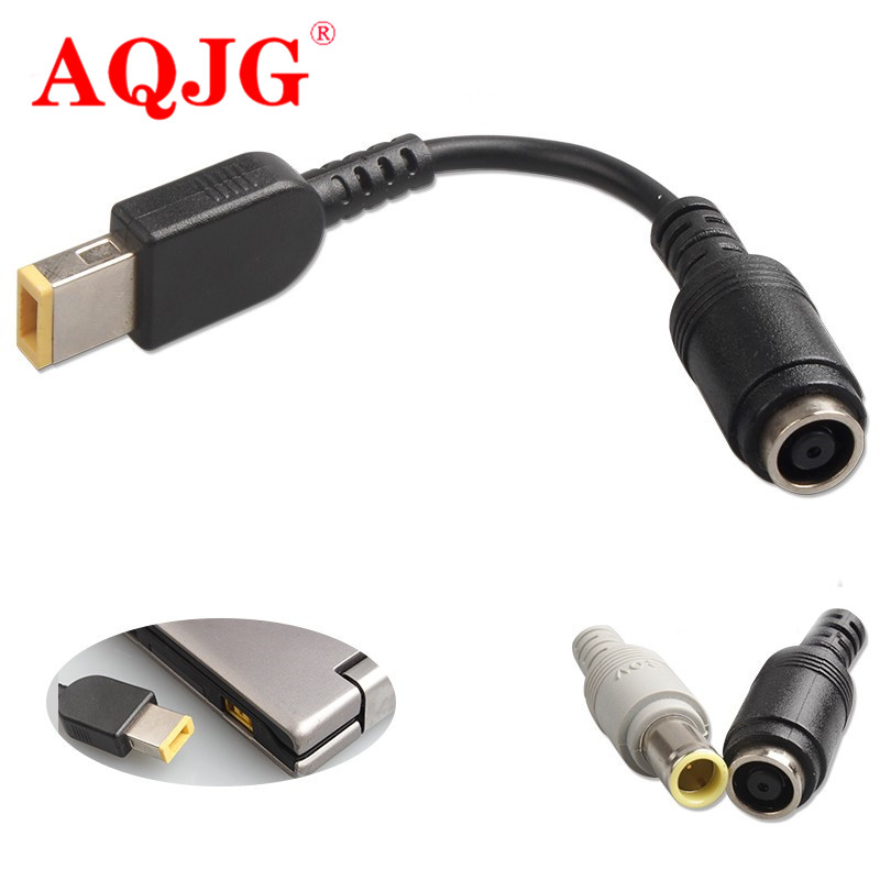 7.9*5.5 To Square Pin DC Power Plug Cable For Lenovo ThinkPad X1 Carbon 0B47046 Adapter Convertor Connector Power Cable