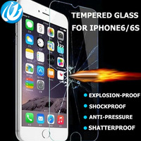 wholesale 100piece film Tempered glas for iPhone 4s 5 6 6s 7 plus glass protective film screen protector protective