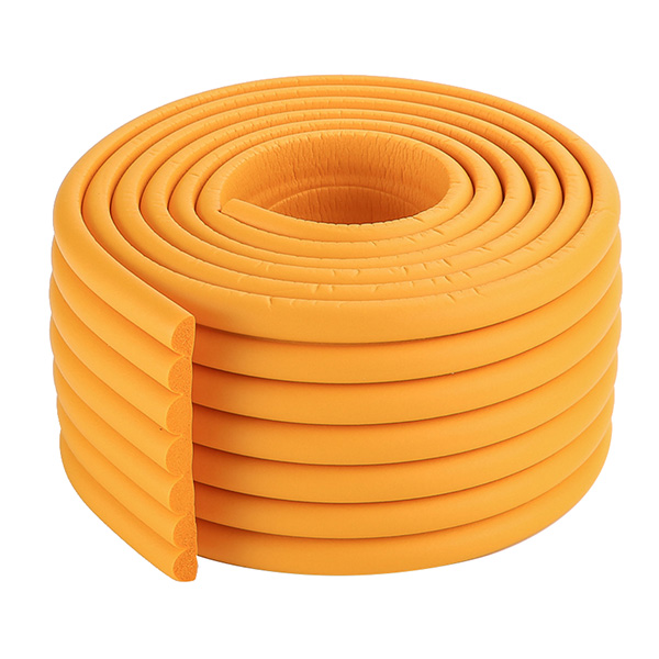 2m Baby Child Kids Table Desk Furniture Edge Corner Safety Guard Protection Security Protector Wide Cushion Pad P(orange)