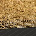 Wholesale High Quality Gold color Copper 2mm Width Link Chains with Diameter 2.5mm Bead Accessories 5 Meter (JM2656)