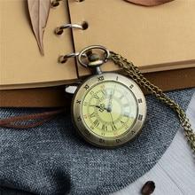 cindiry Vintage Pocket Watch Roman Numerals Fob Watch Dial