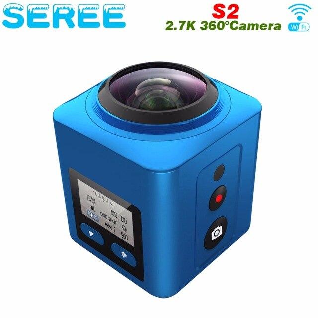 4K 360 Fashion Wireless Sport Waterproof Action DV Camcorder 360 Degree Camera 4K 30FPS Ultra HD 1080P Panorama Video Camera