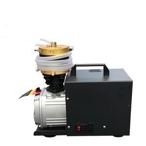 Image 2 - 4500psi 30mpa 300bar bomba pcp compressor de ar alta pressão bomba de ar elétrica para cilindro tanque enchimento gás 110v 220v