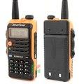 Walkie talkie baofeng BF-UVB2 Plus 8 W Alta amarillo Pogreen wer 4800 mAh batería uvb2 plus Baofeng Doble Banda radio de Dos Vías de los cb de Radio LCD