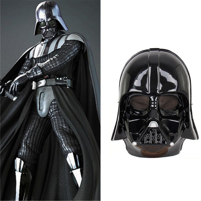 "Résultat de recherche d'images pour ""Black White Star Wars Darth Vader Full Face Mask Deluxe Halloween Superhero Theme Party Cosplay Mask Masquerade Costume Supply"""